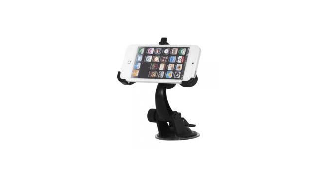 Autohouder Zwart voor Apple iPhone 5/5S