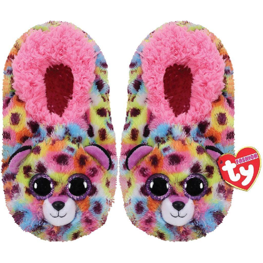 TY Fashion Pantoffels Luipaard Giselle Maat 36-38 Aantal 6 Paar