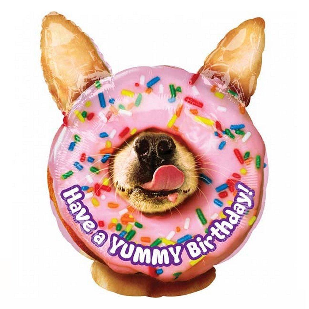 Folie Ballon Have a Yummy Birthday 35x45 cm