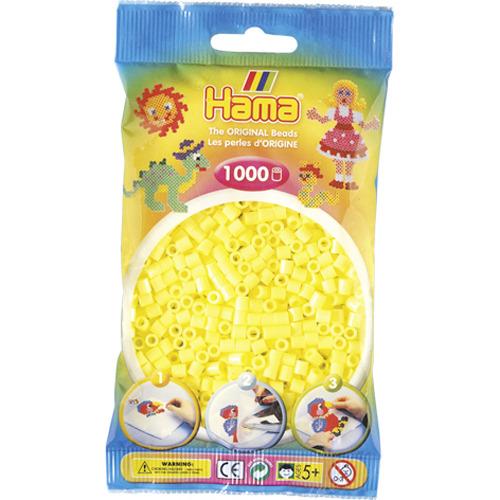 Hama Strijkkralen 1000 Stuks Geel Pastel