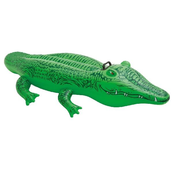 Intex Water Ride-on Krokodil 168x86cm
