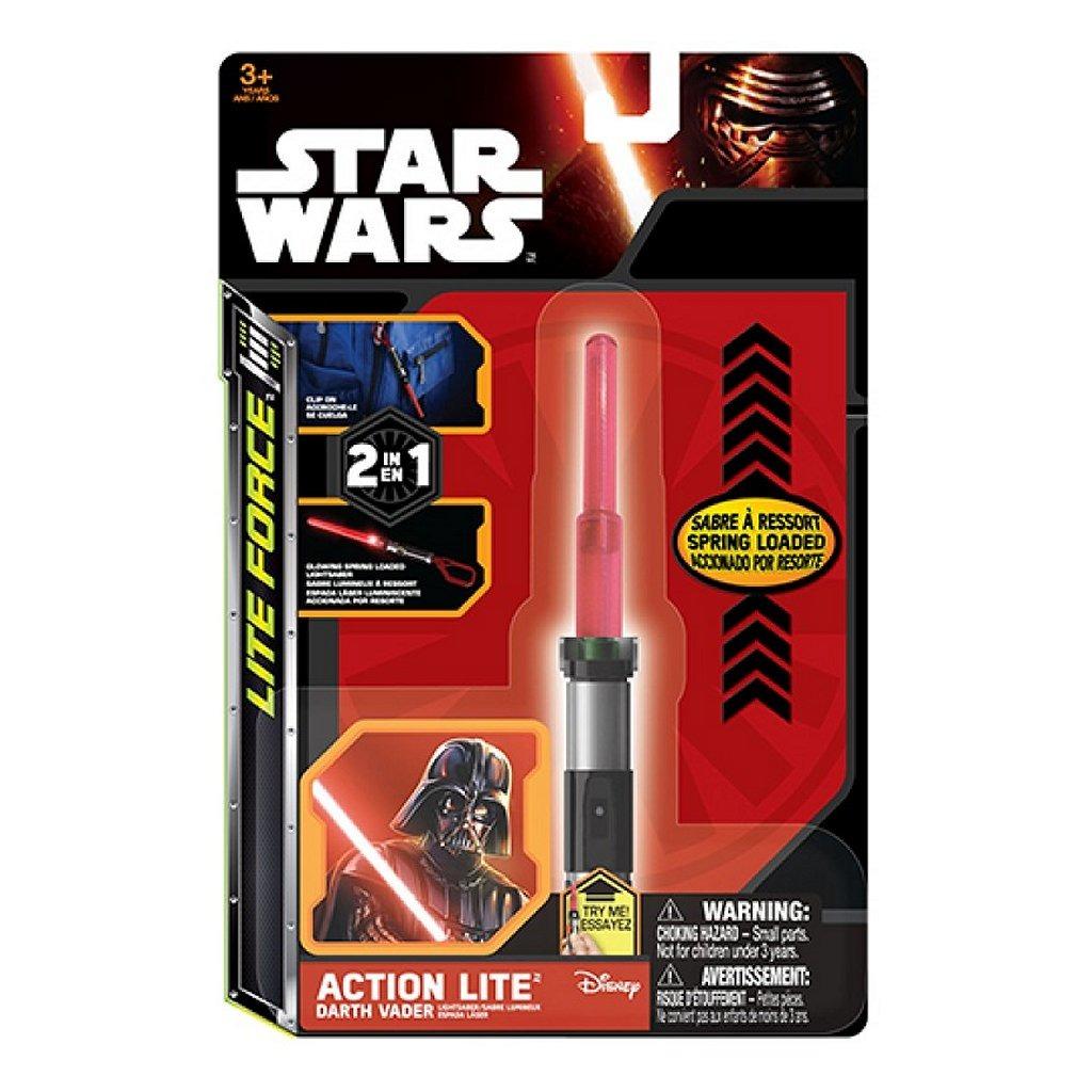 Disney Star Wars 2in1 Lite Force Sleutelhanger met Licht Assorti