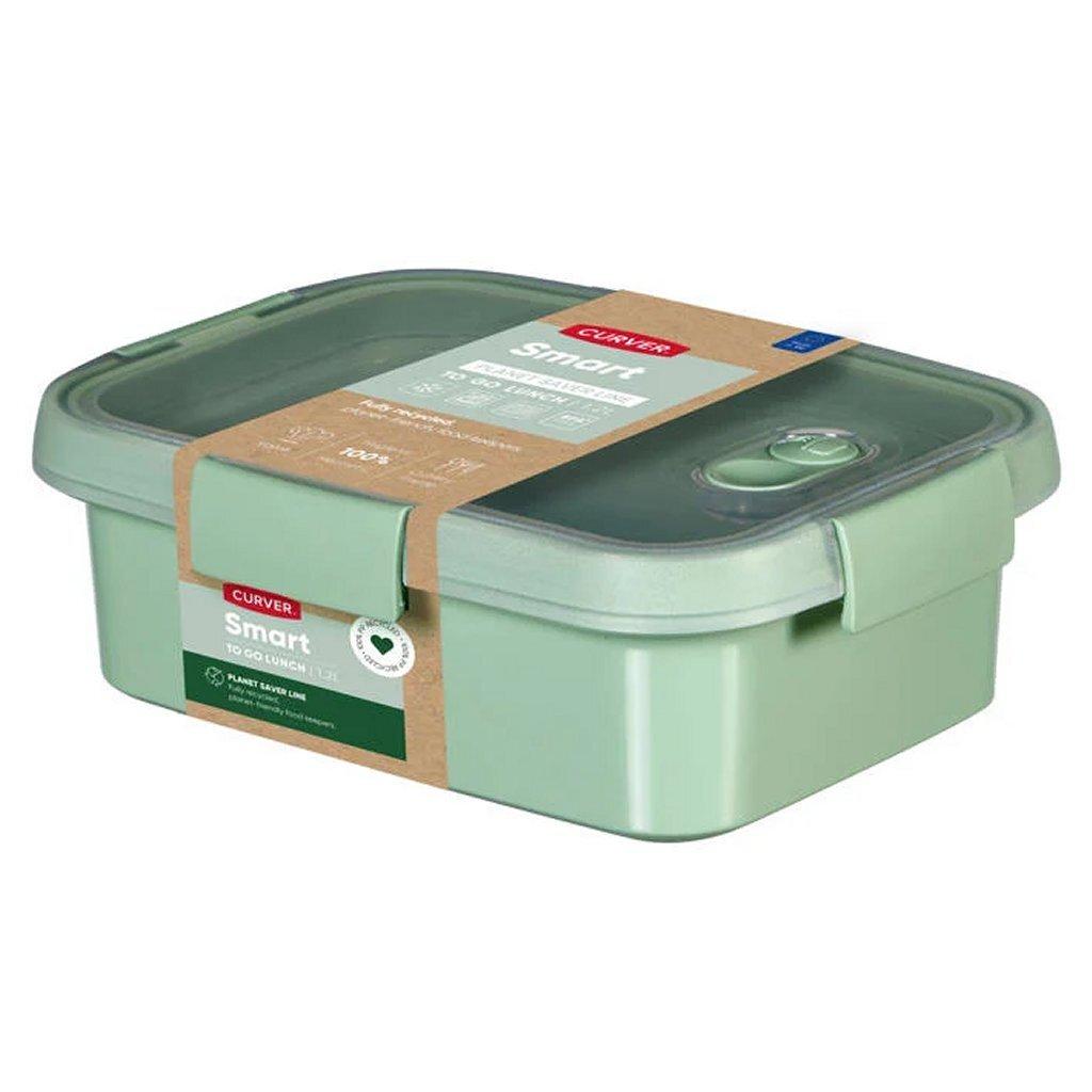 Curver Smart To Go Eco Lunchbox 1L + Bestekset