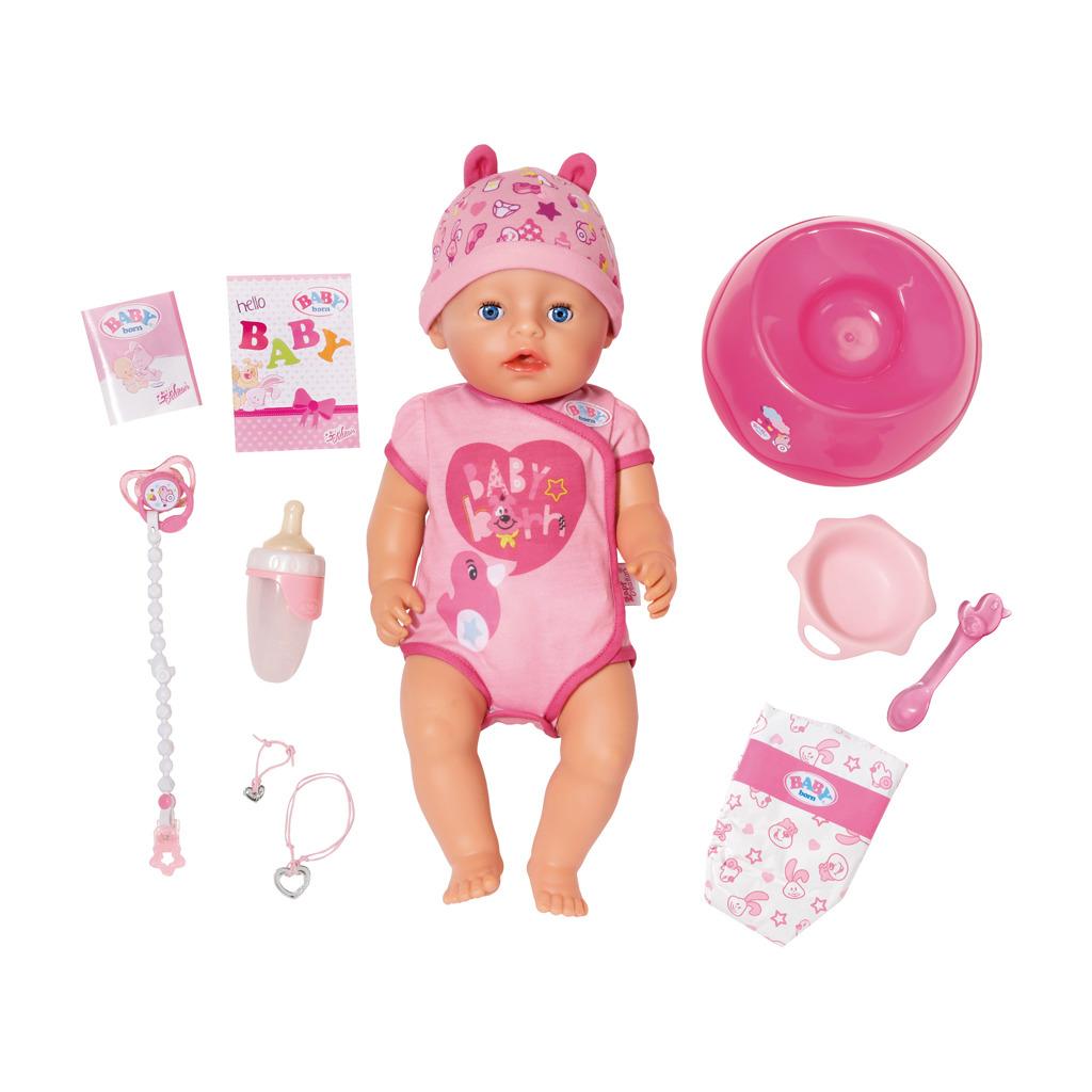 Baby Born Soft Touch Meisje met Accessoires