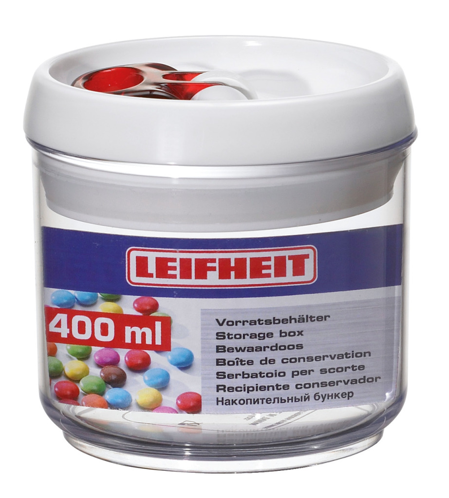 Leifheit 31198 Voorraadbus Fresh & Easy Rond 400Ml