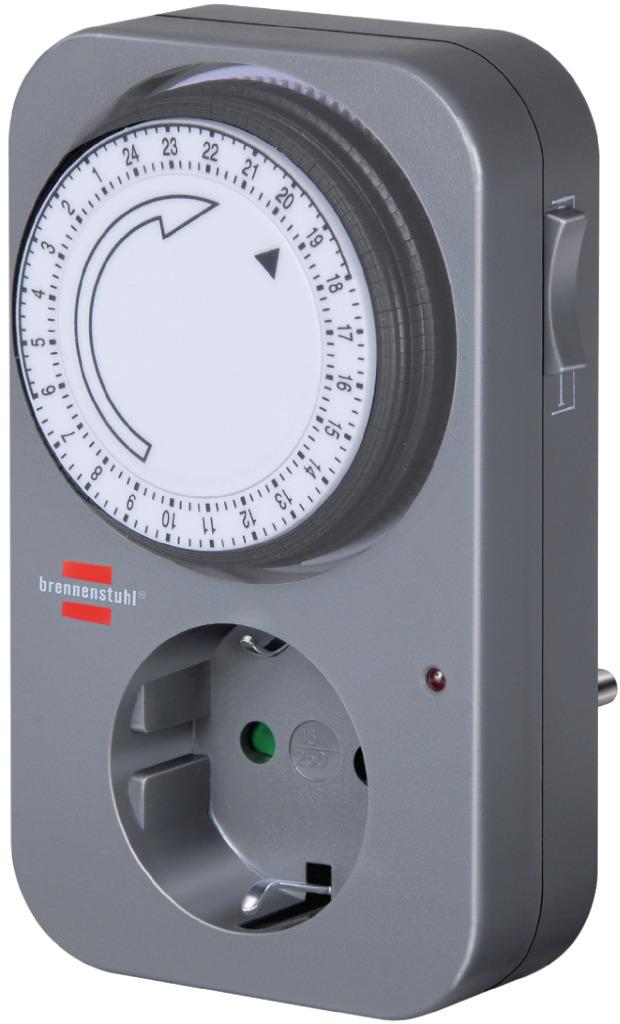 Brennenstuhl BN-1506450 Tijdschakelaar Analoog Binnen 15 Min. 3500 W