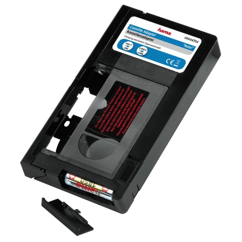 Hama Cassette-Adapter Vhs-C/Vhs Automatisch