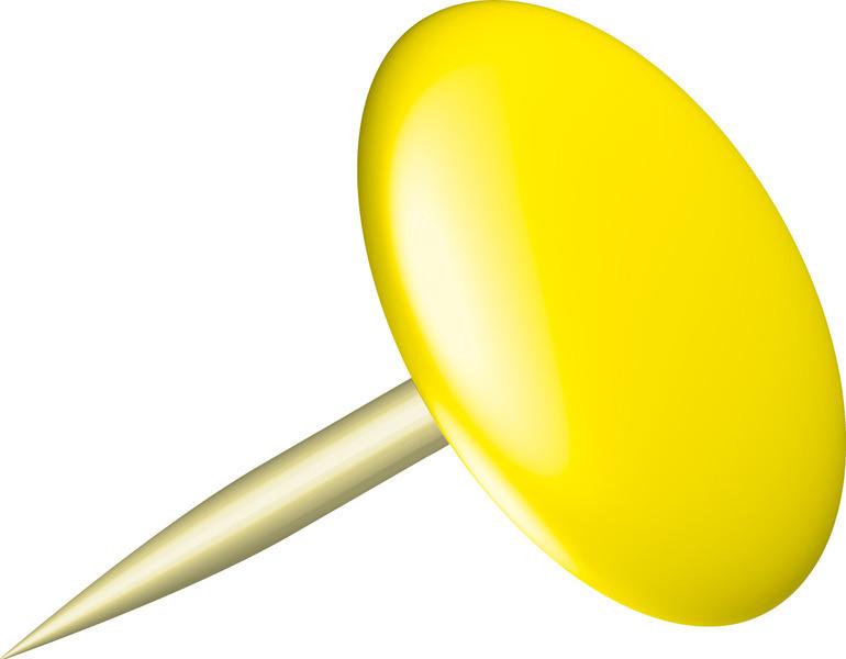 Alco AL-151-13 Punaises Sun 9,5mm Messing Doos A 100 Stuks Geel