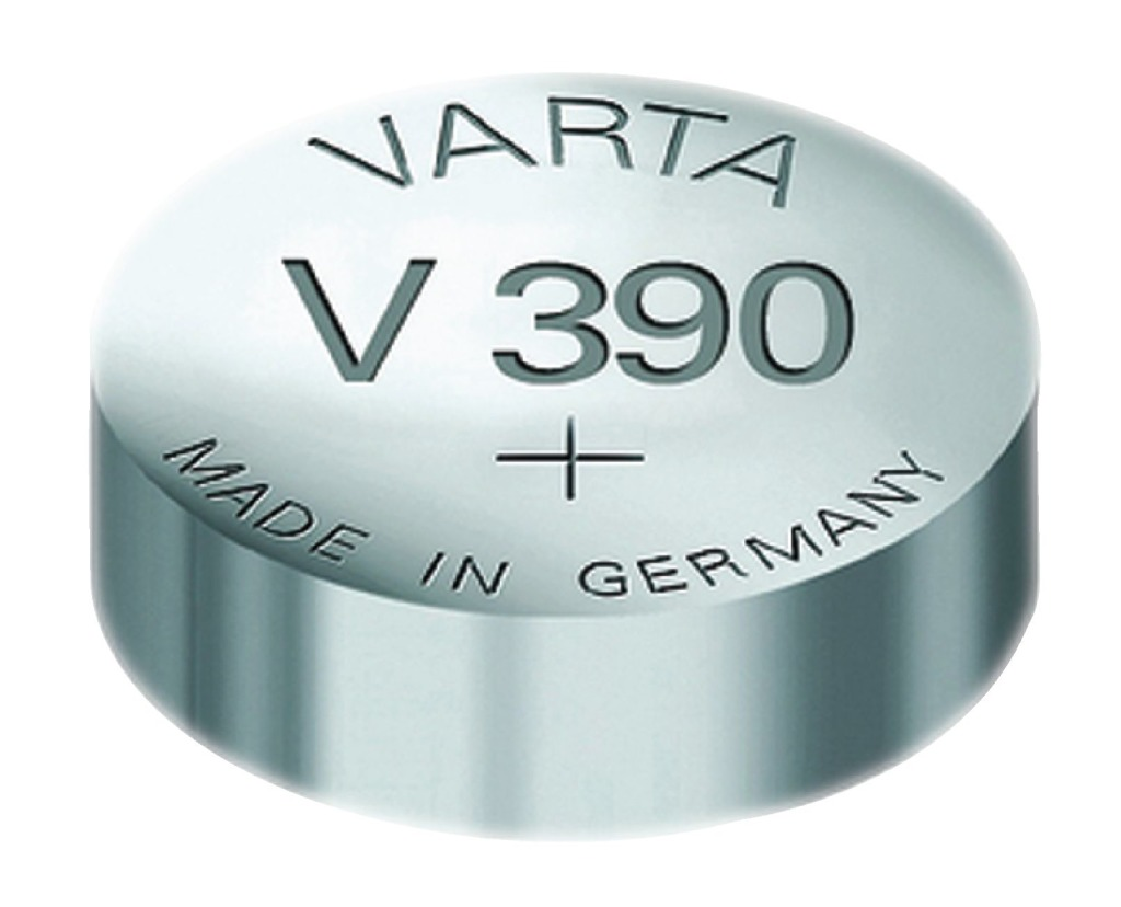 Varta V390 Knoopcel Batterij Zilver