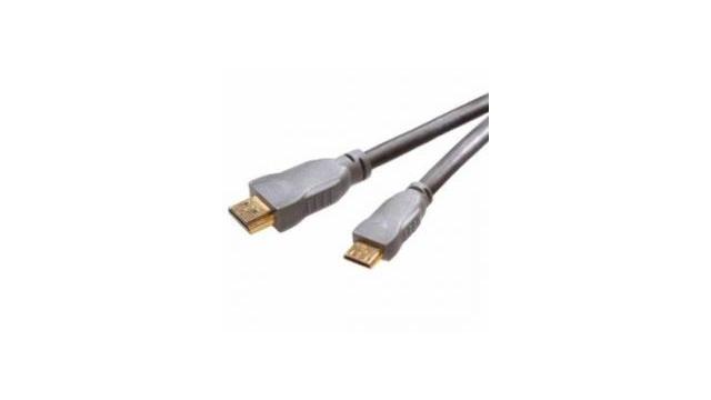 Vivanco HDMI-A - HDMI-C V 1.3 Gold 1.5m Aansluit/Verbindingskabel