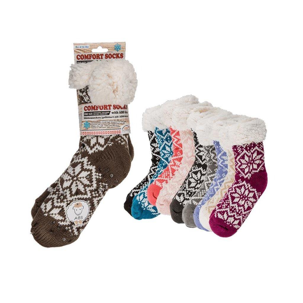 Comfort Sokken IJsbloem One Size Assorti
