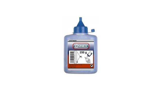 Connex COX792251 Slaglijnpoeder 250gr Blauw