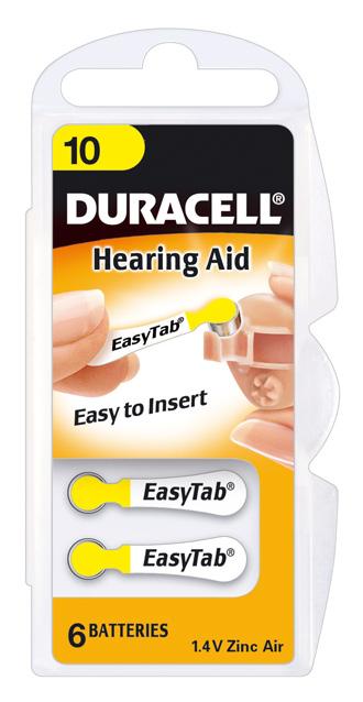 Duracell 3010 Gehoorbatterijen 6 Stuks
