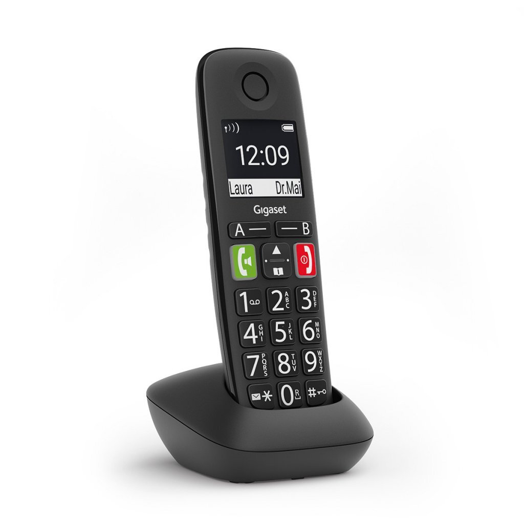Gigaset E290HX DECT Telefoon Zwart