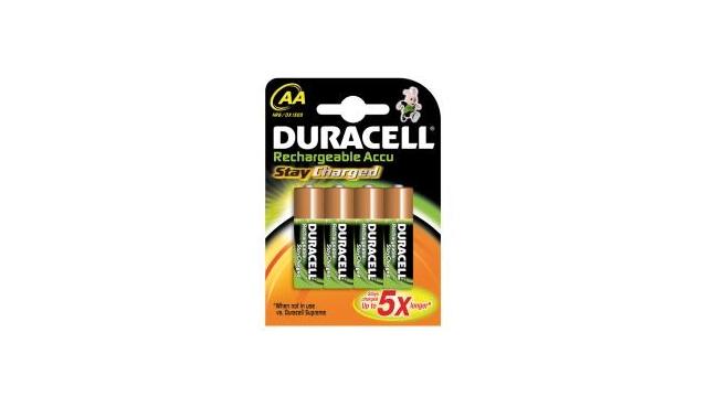 Duracell STAYCHARAAP4 Batterij Oplaadbaar