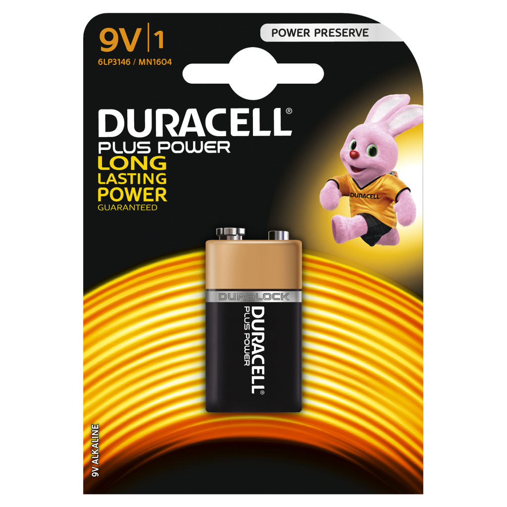 Duracell Compact 9v A1 Mn1604