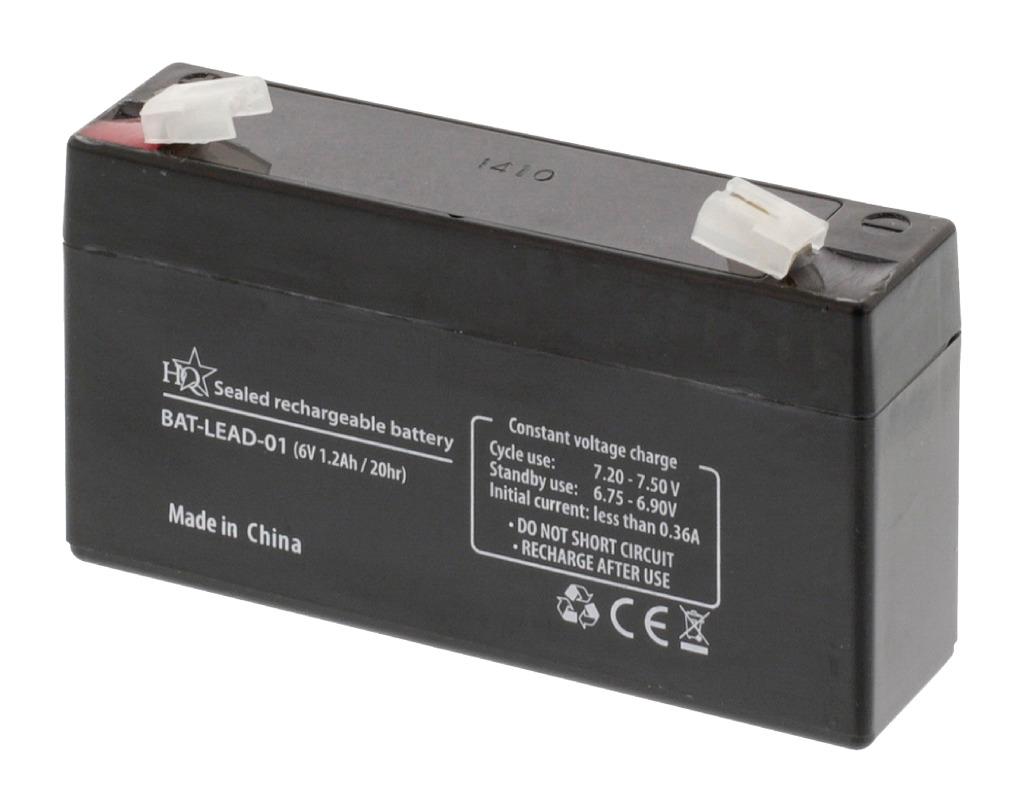 Hq Bat-lead-01 Loodaccu 6 V 1.2 Ah
