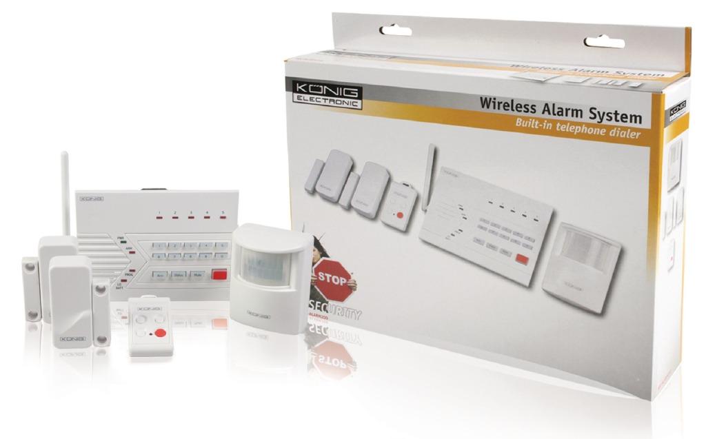 König Sec-alarm200 Draadloos Alarmsysteem