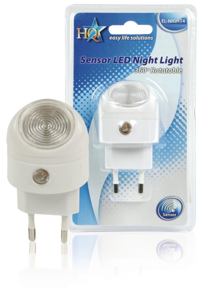 HQ EL-NIGHT4 Led Nachtlamp 1 W Dag/nacht
