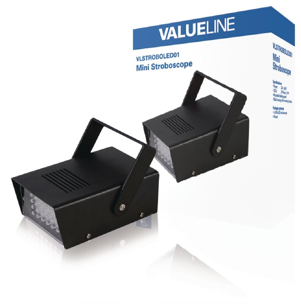Valueline VLSTROBOLED01 LED Stroboscoop