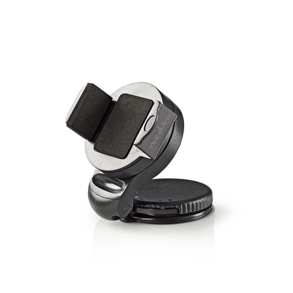 Nedis SCMT400BK Smartphone-houder Voor Auto Zuignap Over 360° Draaibaar Over 90° Kantelbaar