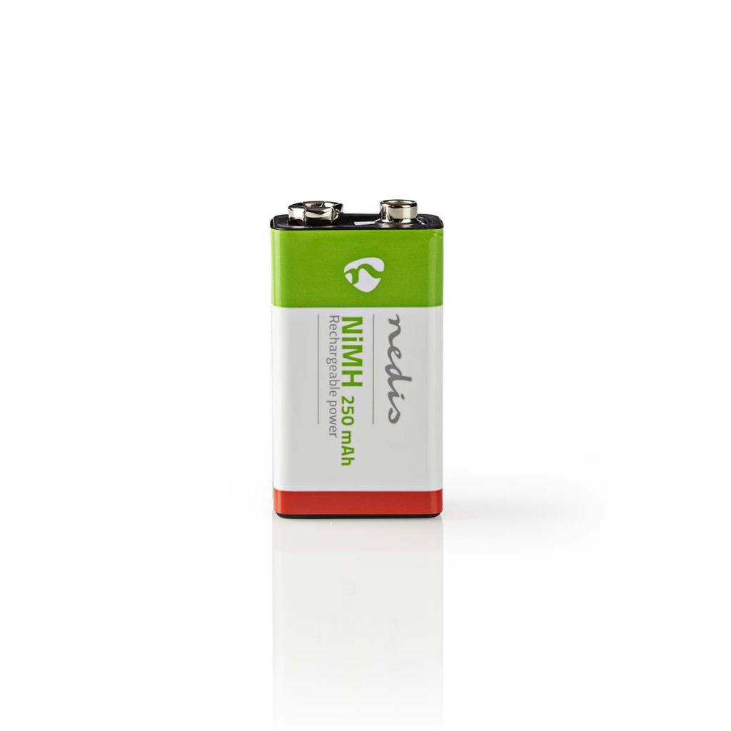Nedis BANM9HF91B Oplaadbare Nimh Batterij E-blok 8,4 V 250 Mah Blister