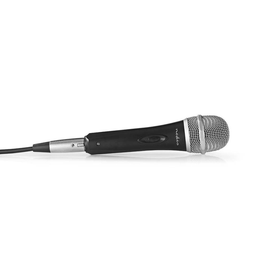 Nedis MPWD50BK Bedrade Microfoon Gevoeligheid -72 Db +/-3 Db 50 Hz - 15 Khz 5,0 M