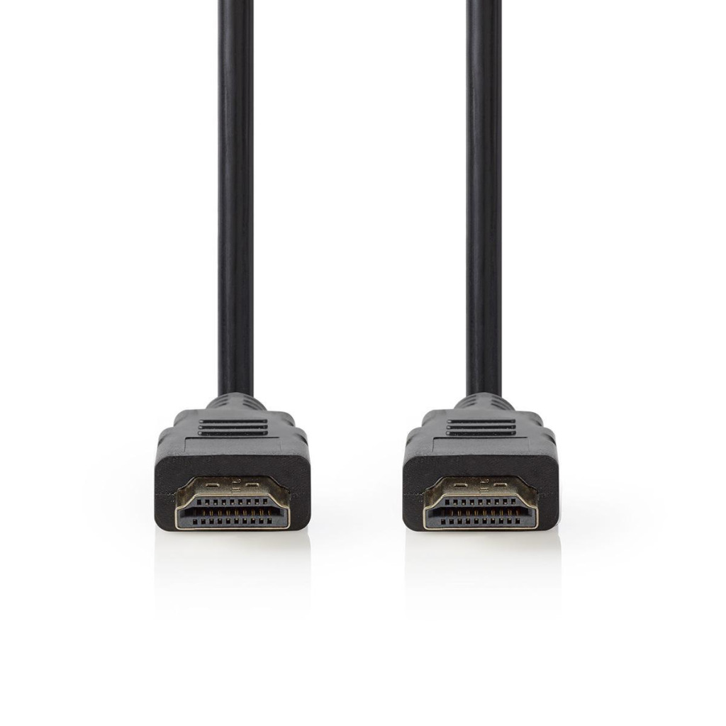 Nedis CVGT34001BK10 High Speed Hdmi™-kabel Met Ethernet Hdmi™-connector - Hdmi™-connector 1,0 M Zwar