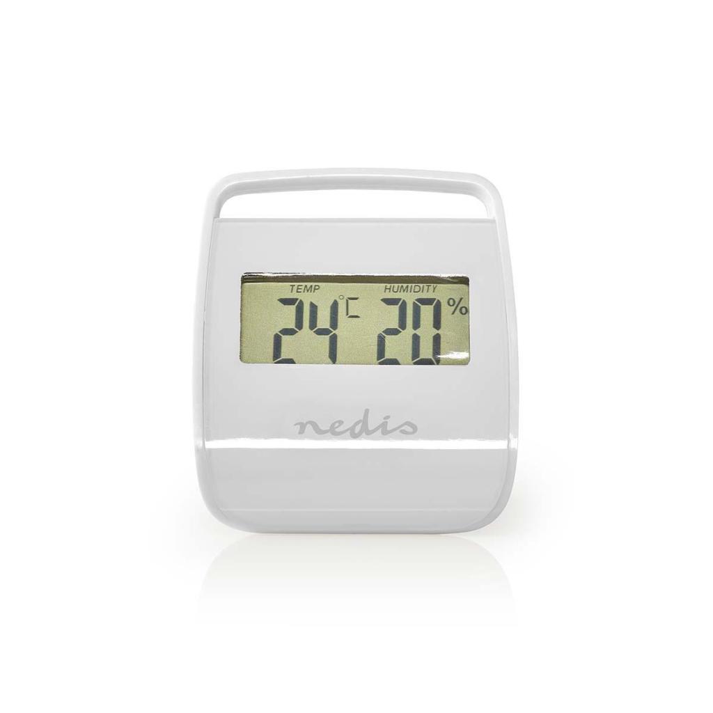 Nedis WEST100WT Thermometer Hygrometer Indoor White