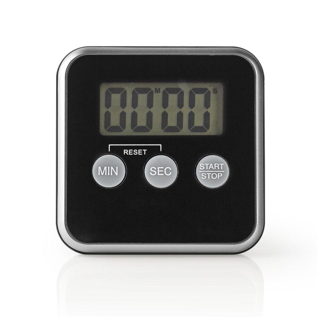 Nedis KATR102BK Keukentimer Digitaal Display Zwart