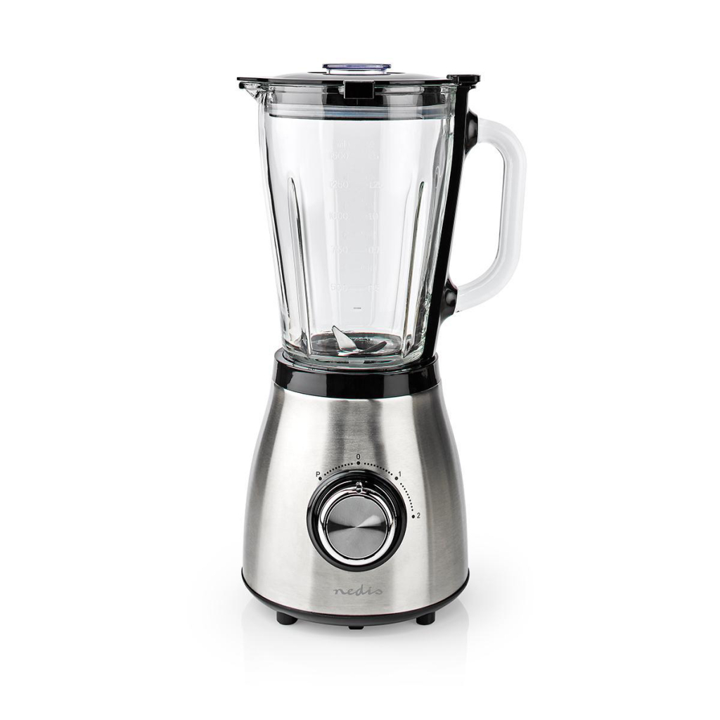 Nedis KABL350CAL Blender 1.5 L Zilver/Zwart