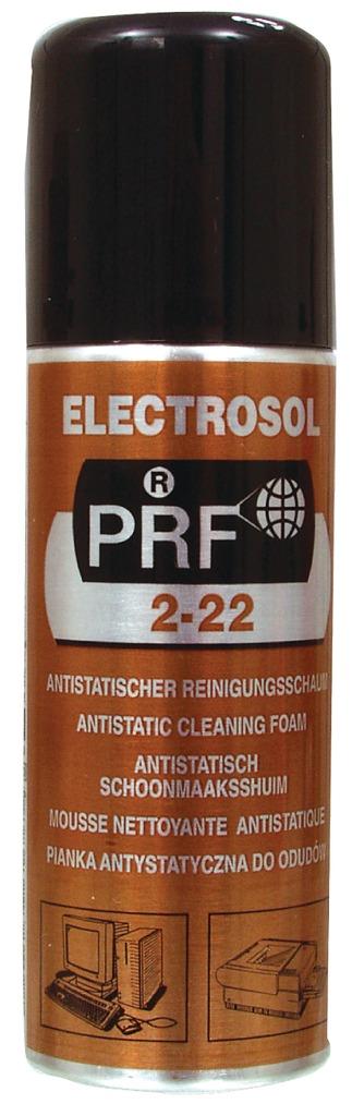 Taerosol PRF 22/220 Electrosol Antistatisch Schoonmaak Schuim 220Ml