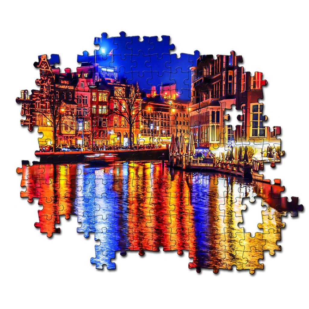 Clementoni High Quality Collection Puzzel Amsterdam 500 Stukjes