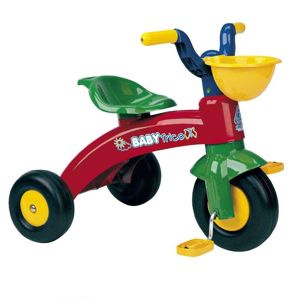 Injusa Baby Trike Driewieler + Mand 55x42x47 cm