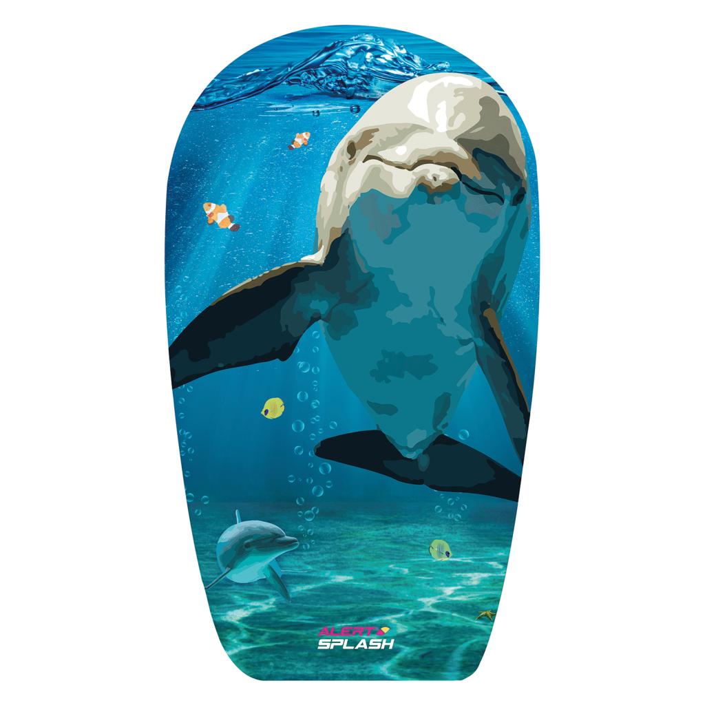Alert Splash Bodyboard met Dolfijnen-Print 84 cm EPS