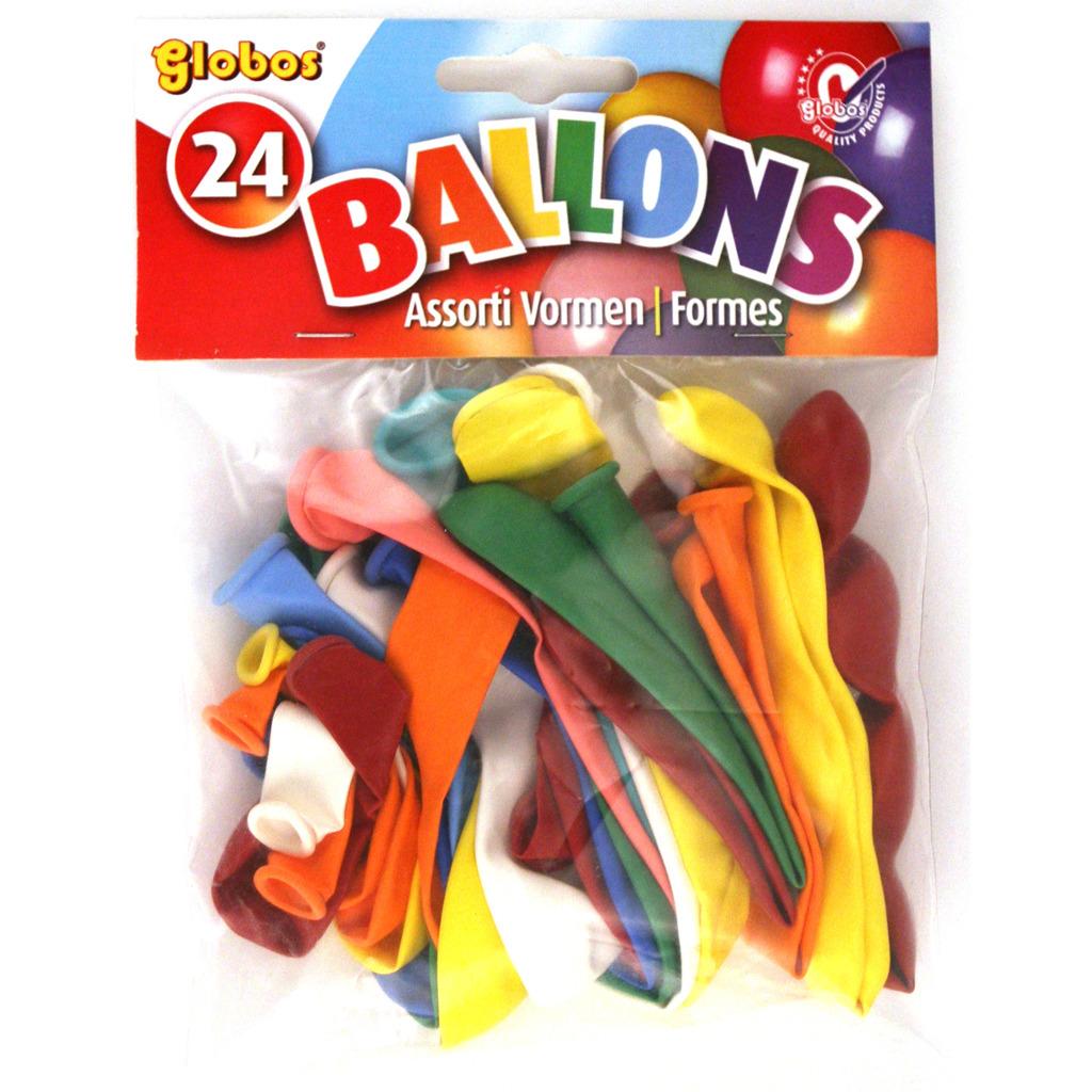 Globos Ballonnen Verschillende Vormen 24 Stuks
