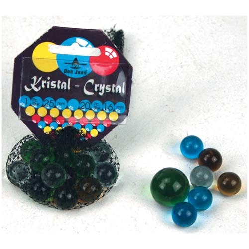 Knikkers Crystal 20+1 Stuks