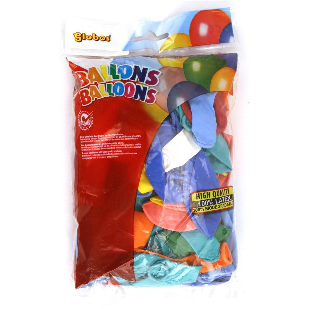 Globos Ballon Multi Kleuren 50 Stuks