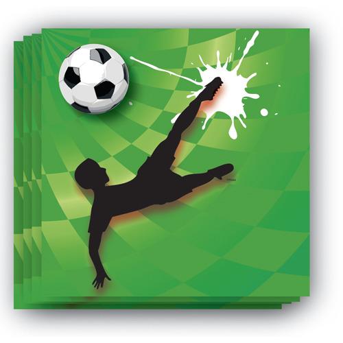 Sportieve Goal Servetten 20 stuks