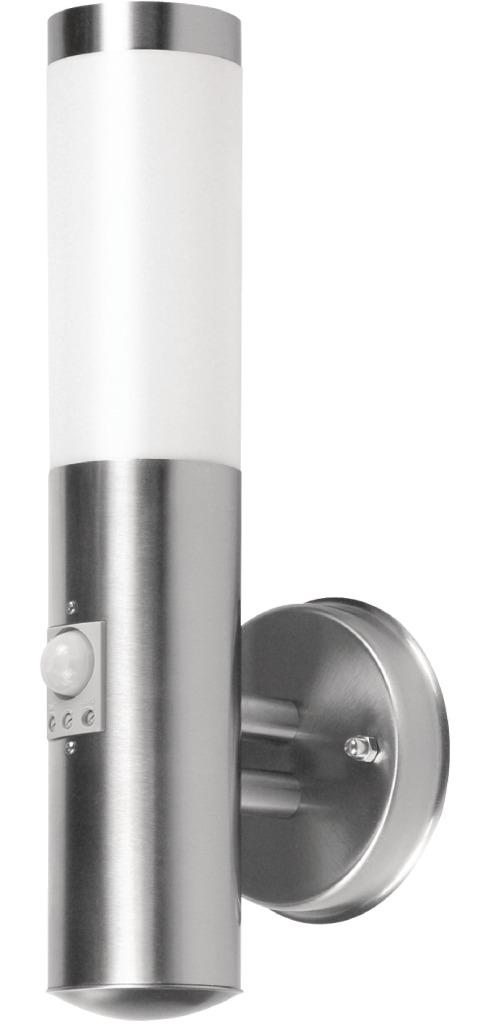 Ranex rx101038r-s Wandlamp met Bewegingsmelder Geborsteld RVS Kunststof