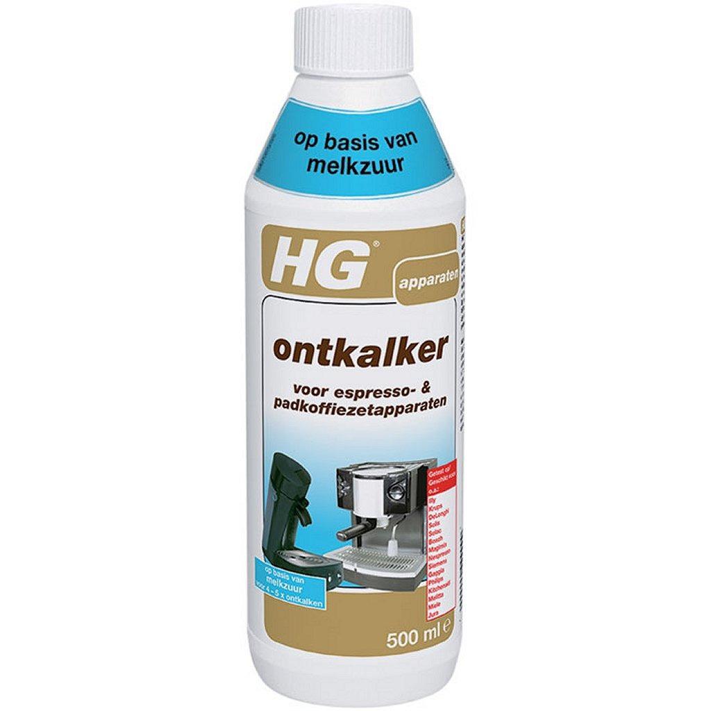 HG Ontkalker Espresso- & Koffiepadmachines Melkzuur 0,5L