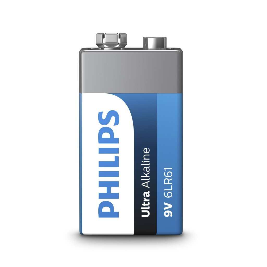 Philips 9V Alkaline 6LR61 Batterij