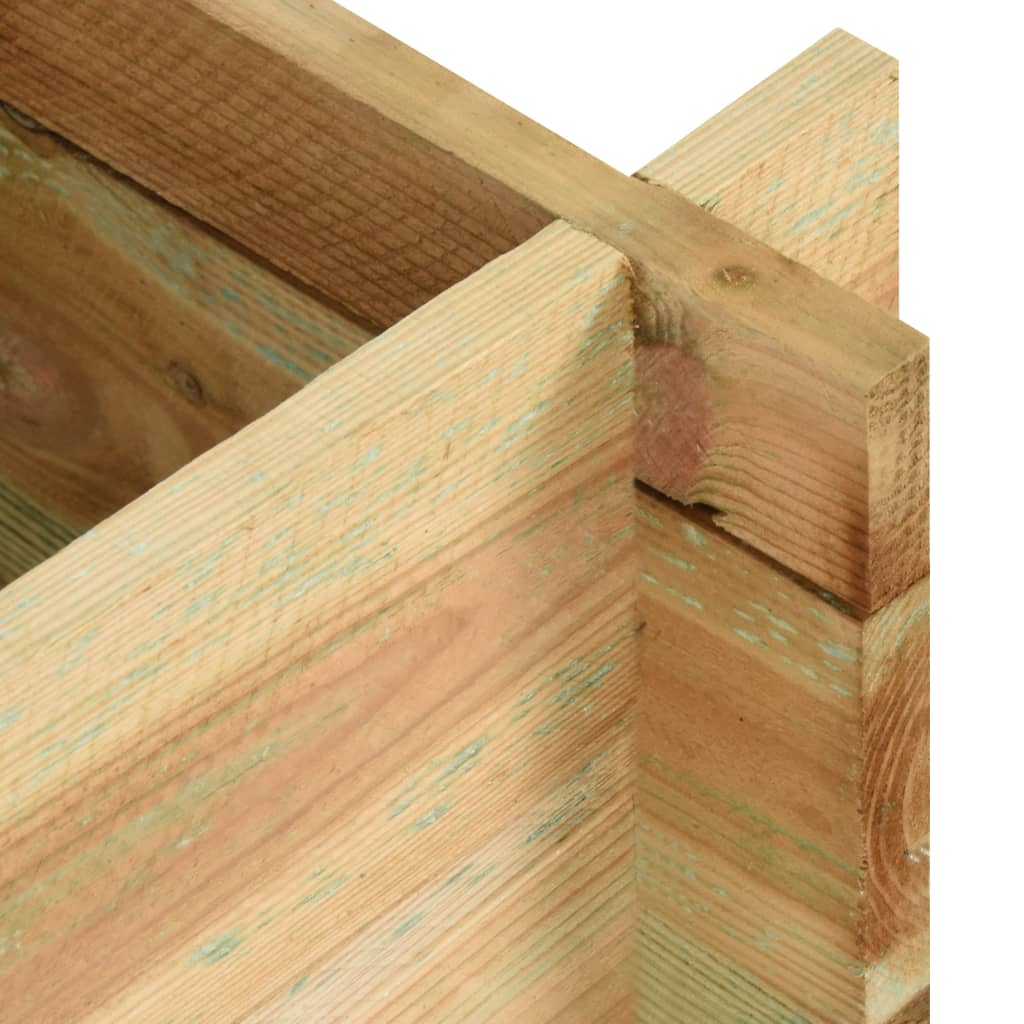 Plantenbak 120 cm FSC gempregneerd grenenhout