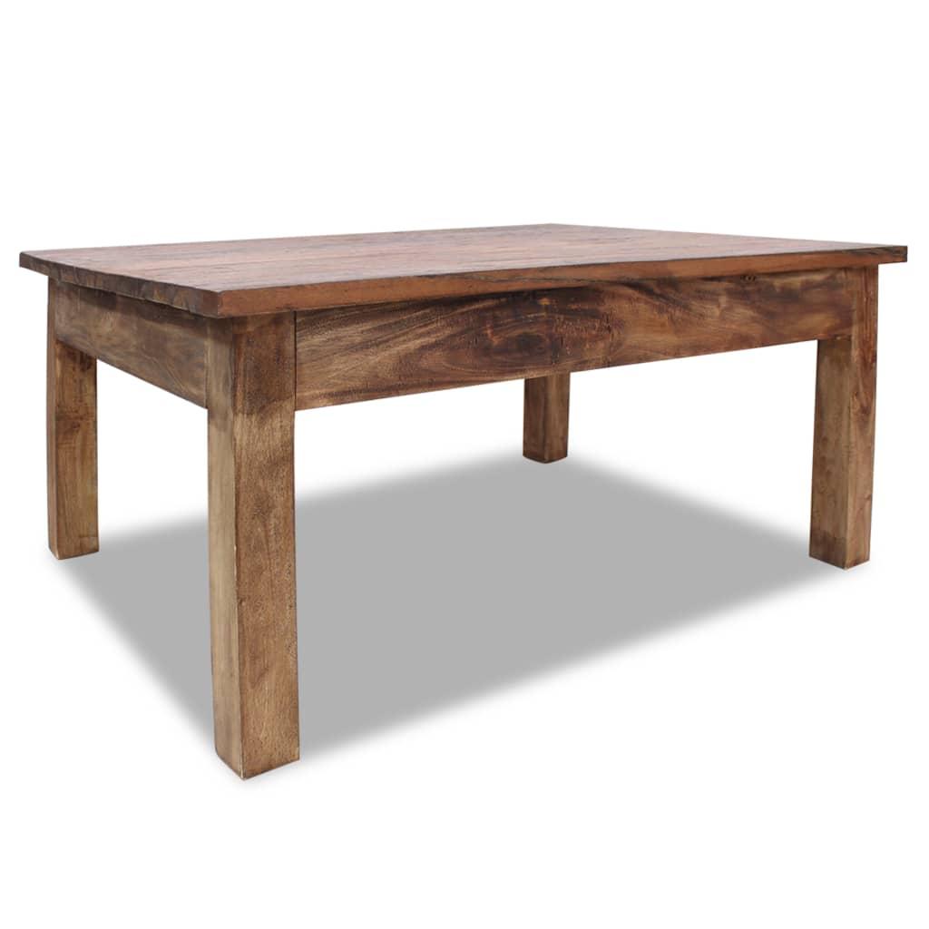 Salontafel 98x73x45 cm massief gerecycled hout