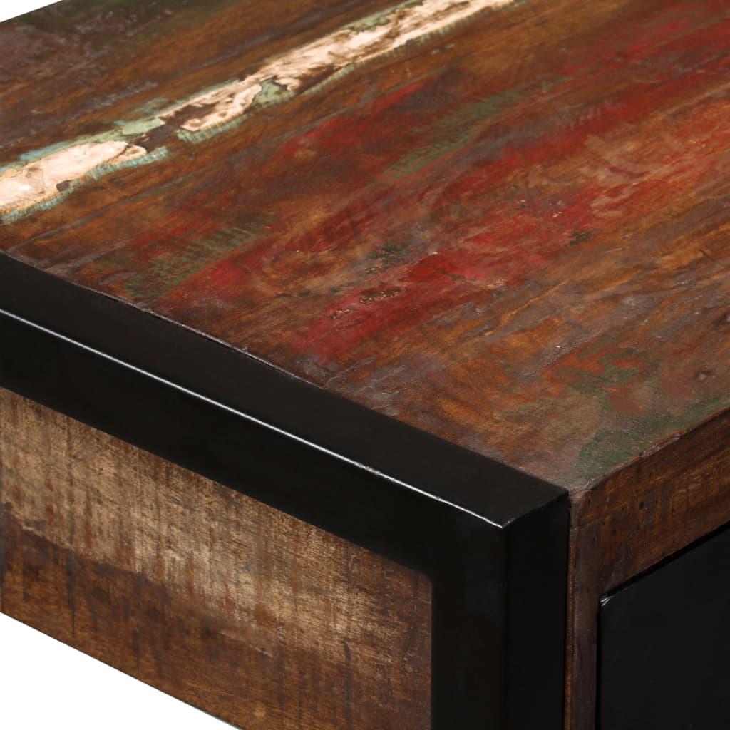Bureau met 2 lades 120x50x76 cm massief gerecycled hout