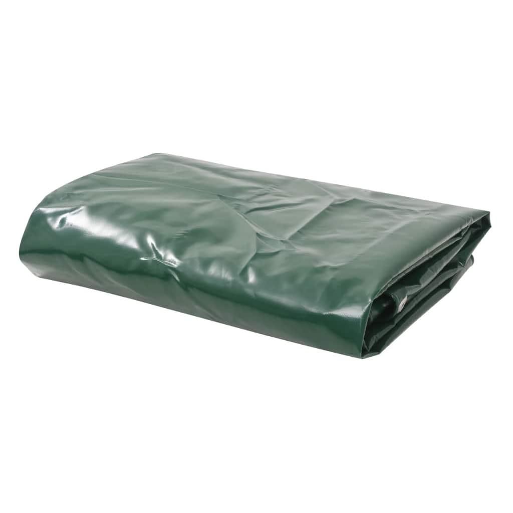 Dekzeil 650 g/m 3x6 m groen