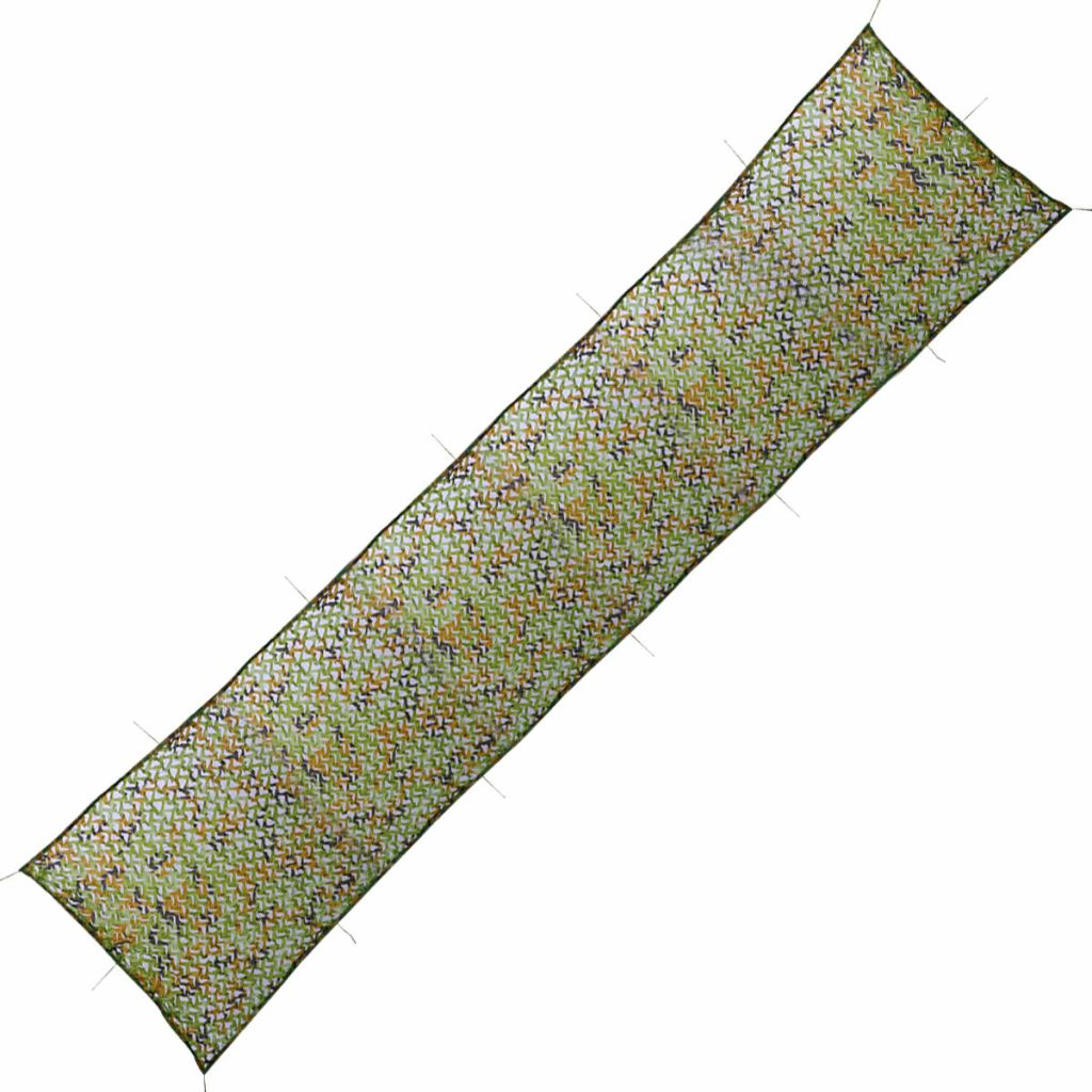 Camouflagenet met opbergtas 1,5x10 m