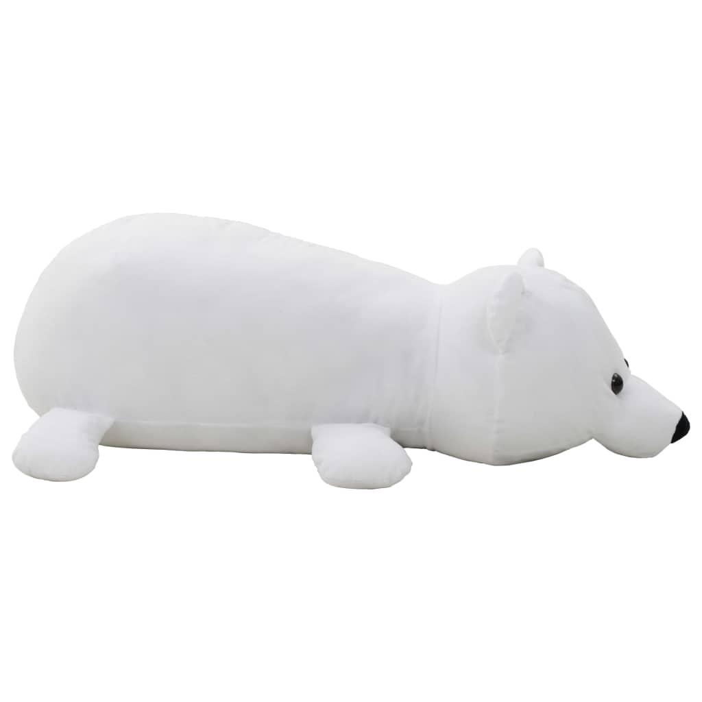 Knuffel-ijsbeer-pluche-wit