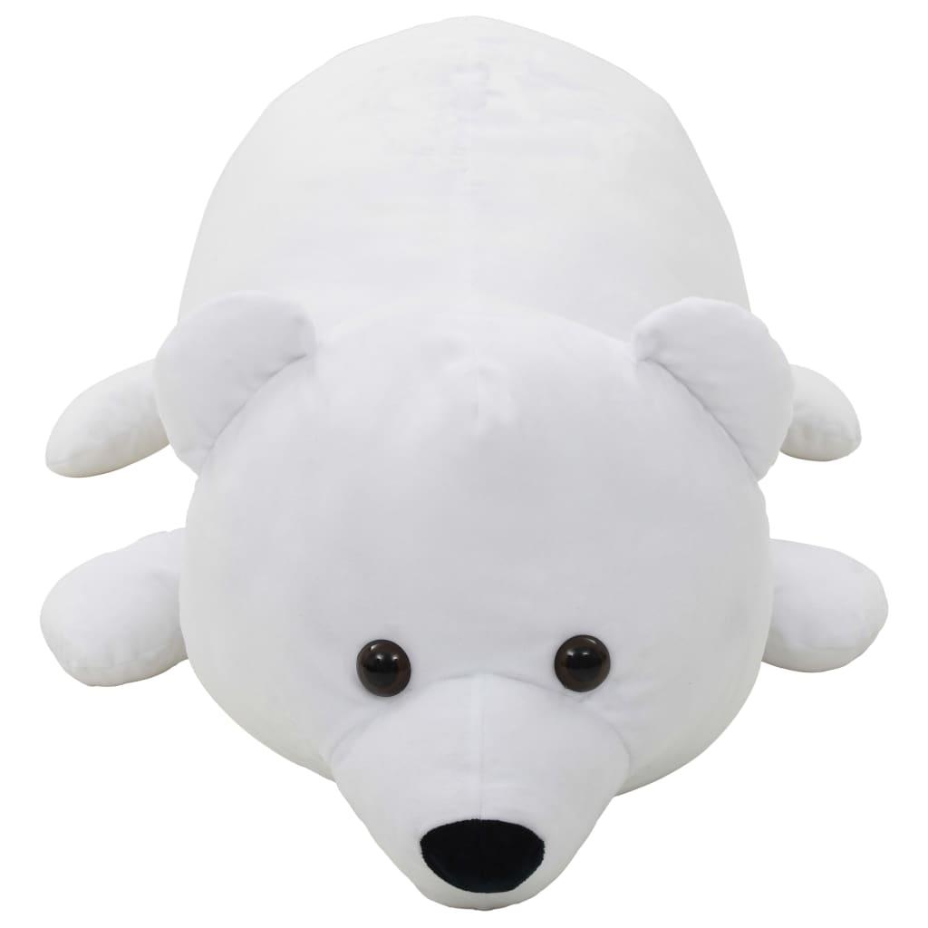 Knuffel-ijsbeer-pluche-wit miniatuur 2