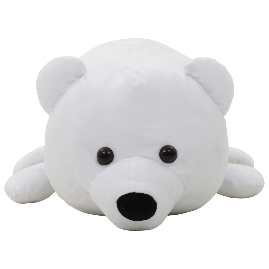 Knuffel-ijsbeer-pluche-wit miniatuur 3